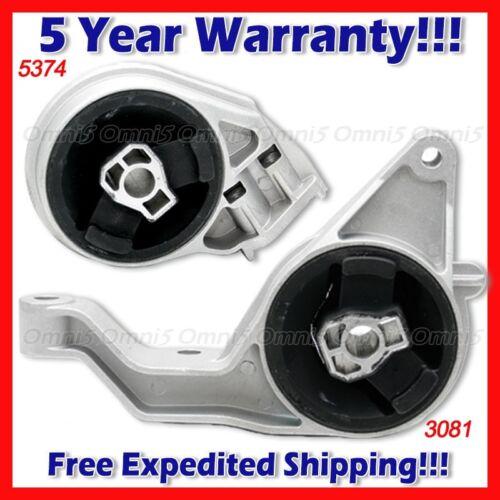 L817 For 05-10 Chevy Cobalt HHR Pontiac G5 2.2//2.4L AUTO FR /& RR Trans Mount 2pc