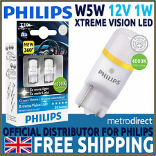 Philips X-treme Vision 360 LED W5W 510 T10 4000K LED Interior Car Bulbs (Pair)