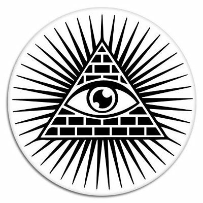 Eye of Providence All Seeing Eye Car Vinyl Sticker SELECT SiIZE