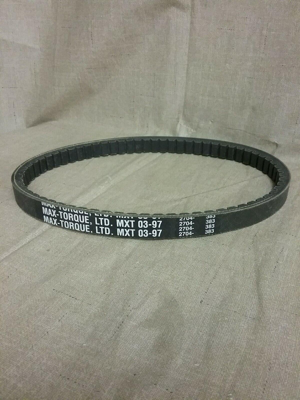 New MAX-TORQUE  Belt MXT97