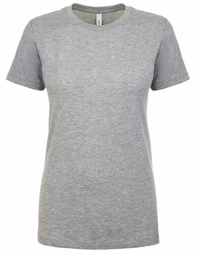 Damen T-Shirt Ideal Sommershirt Kurzarm Rundhalsausschnitt Uni viele Farben