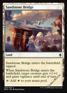 1 FOIL Lumbering Falls Land Battle for Zendikar Mtg Magic Rare 1x x1