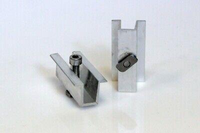 Adaptable 44 Bis 48 Mm Modul Mittelklemme Aluminium Erneuerbare Energie Solar Pv Photovoltaik Non-Ironing