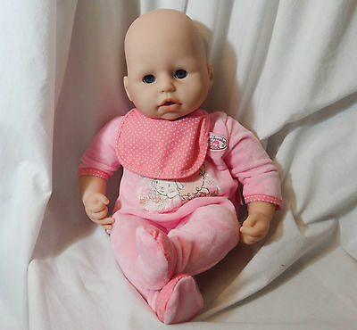 """Zapf Creation 18"""" Baby Annabell Interactive Doll - Babbles giggles Cries"""