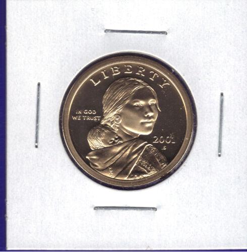 2001-S CHOICE PROOF SACAGAWEA NATIVE AMERICAN DOLLAR