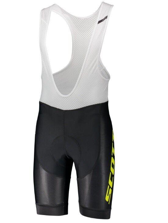 Shorts SCOTT RC PRO schwarz/gelb/Trägerhose Scott rc rc Scott Pro c03a52