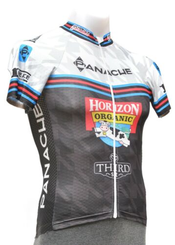Panache V-Lab Short Sleeve Race Fit Jersey Men XS S M L 2XL Road Bike Horizon