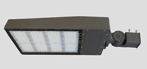 LED ShoeBox 300W Light Parking Lot Fixture Philips replaces 750W-1000W MH/HPS
