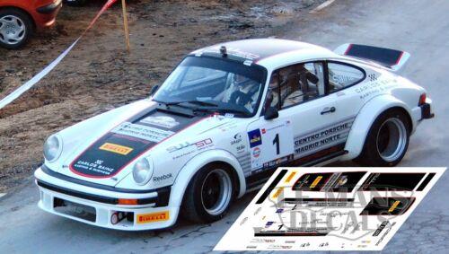 Calcas Porsche 911 SC Rally de España Historicos 2013 Slot Sainz decals