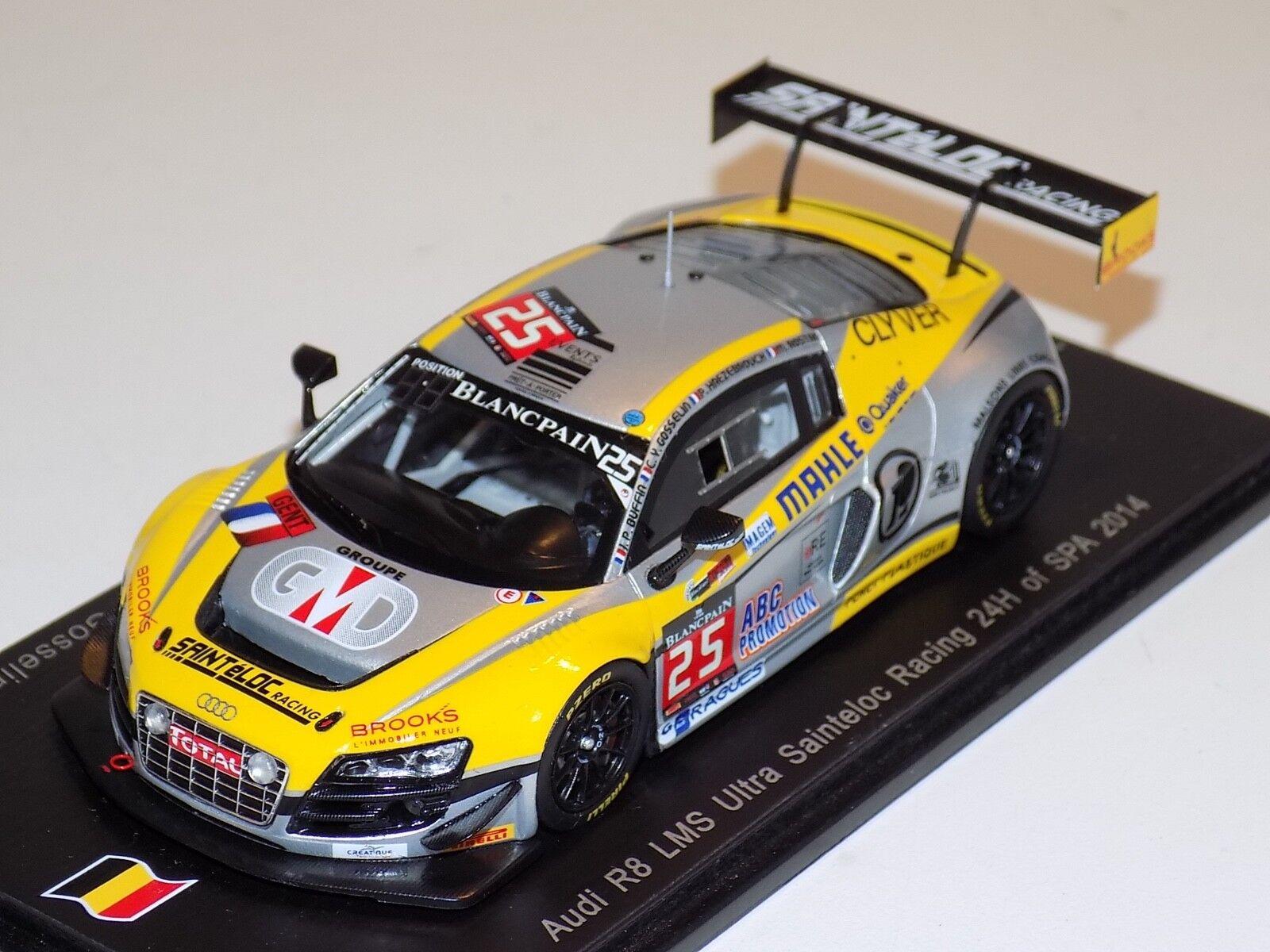 1 43 Spark Audi R8 LMS Ultra coche Horas de Spa 2014 SB089