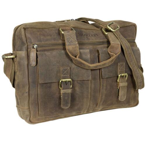 Bag 45x30x10cm Massenger Kuriertasche Schultertasche Echtleder Citybag Braun wIOqSPc6H