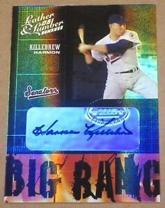 2005-Leather-Lumber-Big-Bang-Signatures-Harmon-Killebrew-AUTOGRAPH-AUTO-Card-1-1
