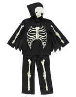 Gymboree Halloween Glow In The Dark Skeleton 2-pc Costume 3 4 5 6 7 8