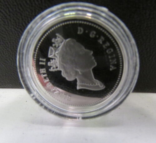 Canada Silver 5c Coin 2001 5 cents
