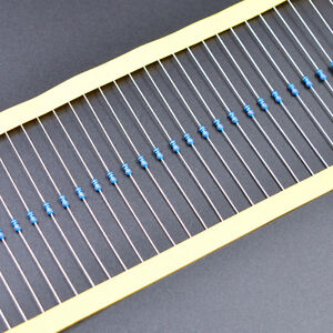 US Seller 50pcs 16k ohm resistor 1//8W 1//8 watt 1/% metal film through hole