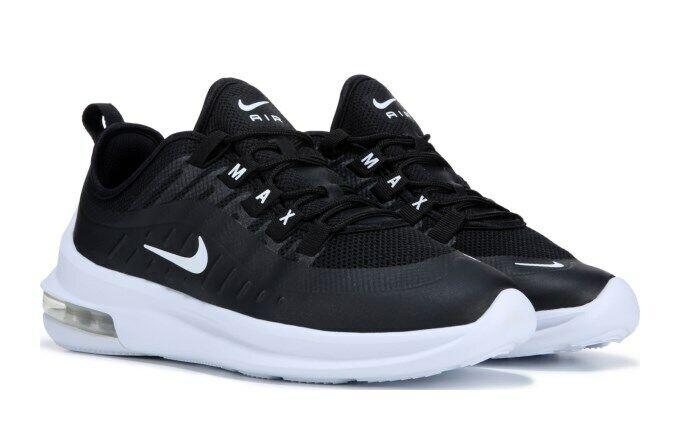 Nike Air Max Eje Hombre Negro blancoo Zapatos Para Correr Nuevo En Caja