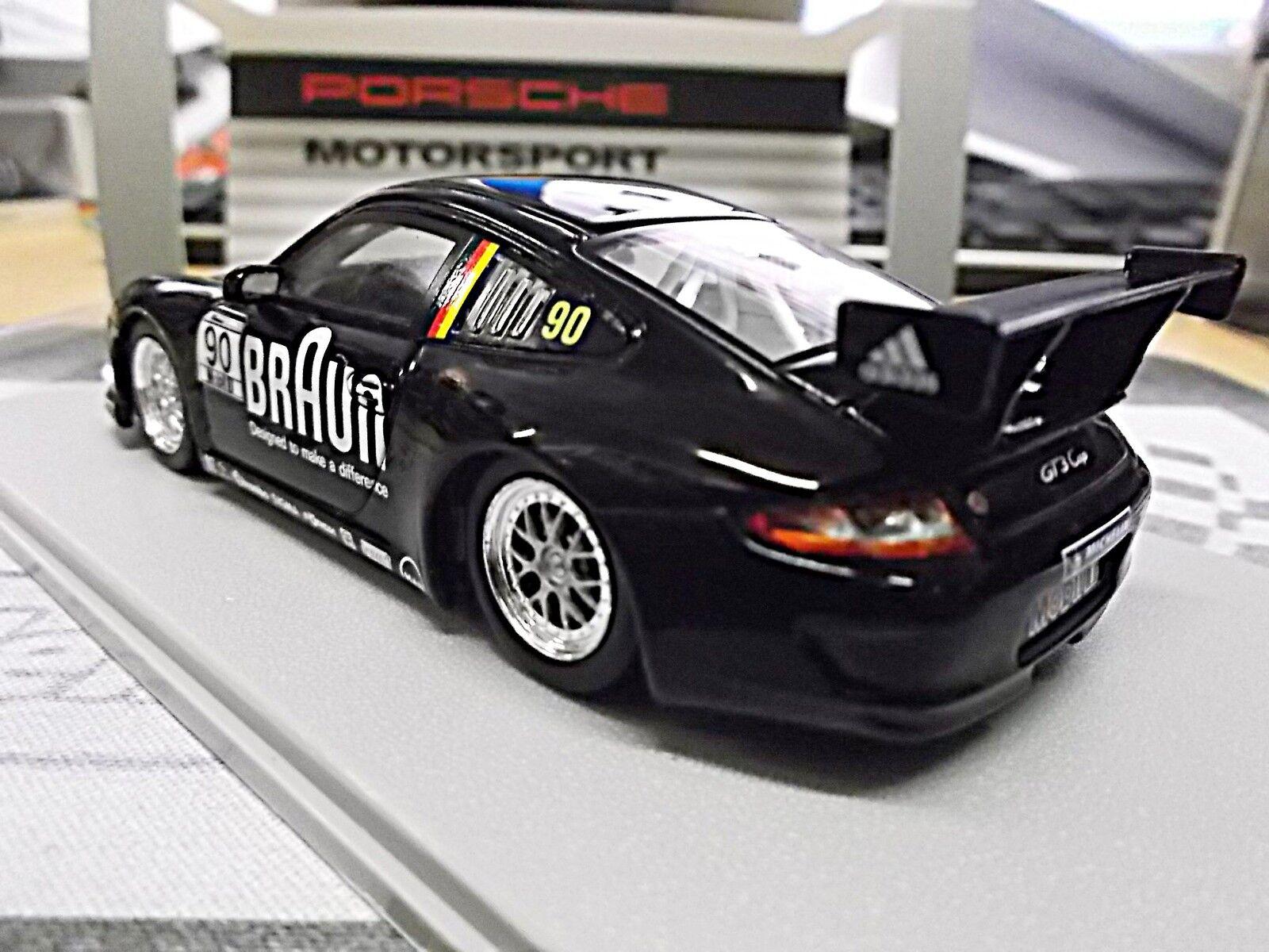 Porsche 911 997 gt3 Cup supercup 2010 Marron    90 vip car spark resin 1 43 29cb80