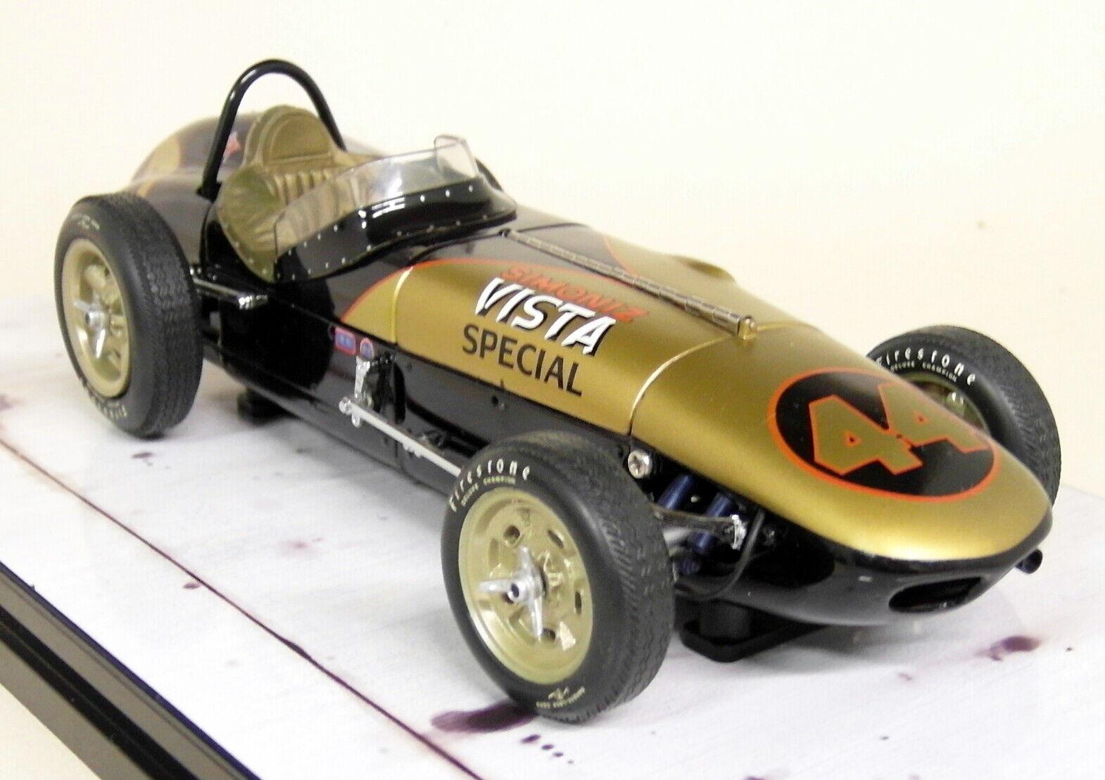 envío rápido en todo el mundo Cocheousel 1 1 1 1 18 escala 4408 Watson Roadster 1962 Indy 500 Simoniz vista especial  comprar ahora
