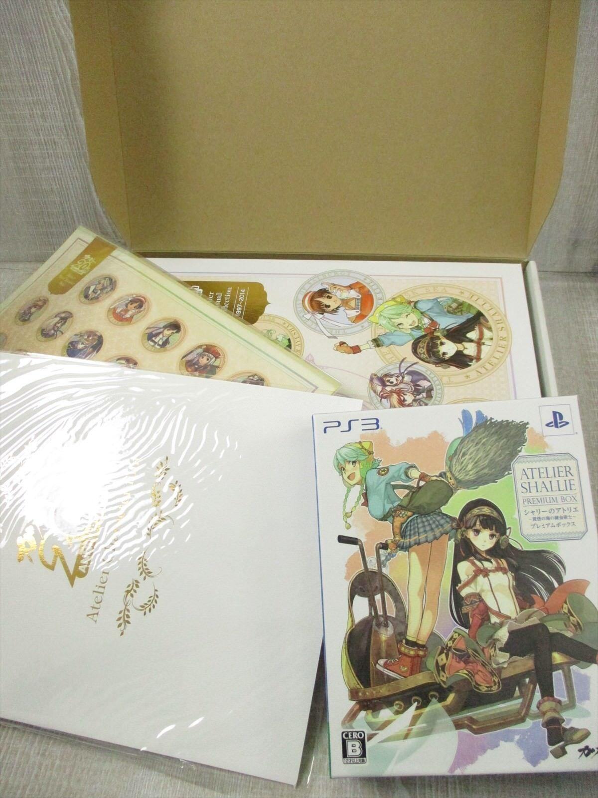 ATELIER SHALLIE Gust 20th Anniv. MEMORIAL BOX Complete Art Set Book CD PS3 etc *