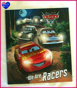 DISNEY-CARS-3-Story-Book-WE-ARE-RACERS-LIGHTNING-McQUEEN-amp-CRUZ-NEW-Pixar