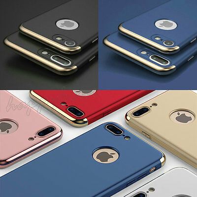 For Apple iPhone 6 7 Ultra-thin Shockproof Full Protective Hard Back Case Cover