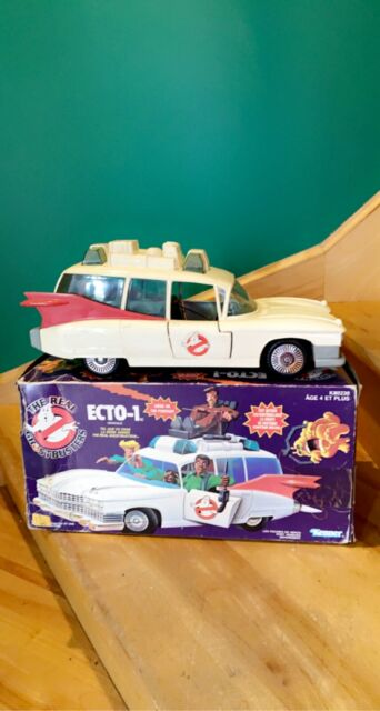 Vintage 1989 Kenner The Real Ghostbusters ECTO-1A Original Box RARE