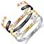 Inspirational-Bracelets-Engraved-Personalized-Encouragement-Mantra-Cuff-Bangle thumbnail 1