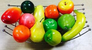 12 Pack Artificial Fruit Eco Variety, Multipack Affordable Home Decoration