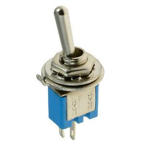 On-off Mini Miniatura Interruptor SPST 5A