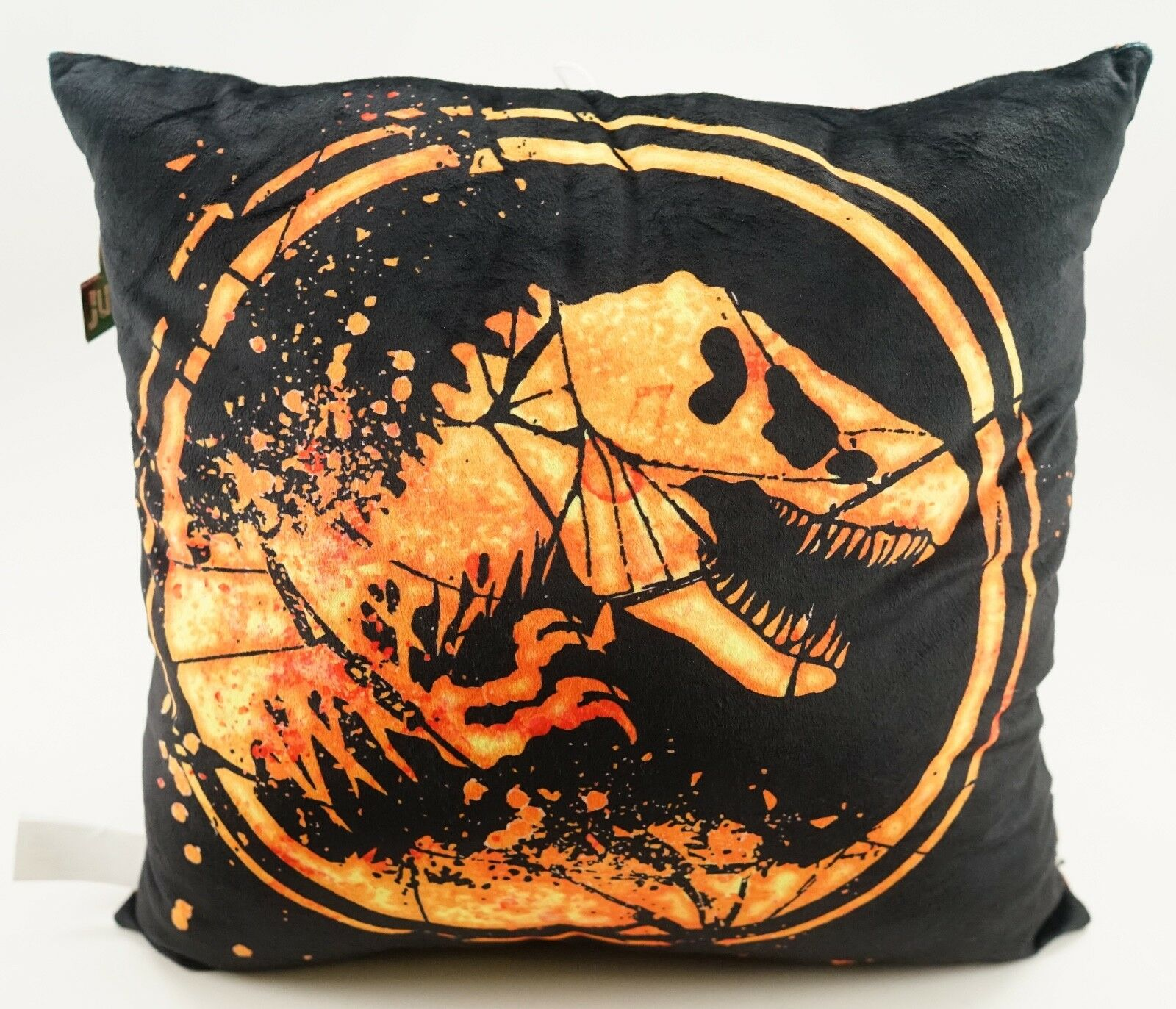 New universell Studios Jurassic värld Fallen Kingdom TREX Logo Plush Pillåg