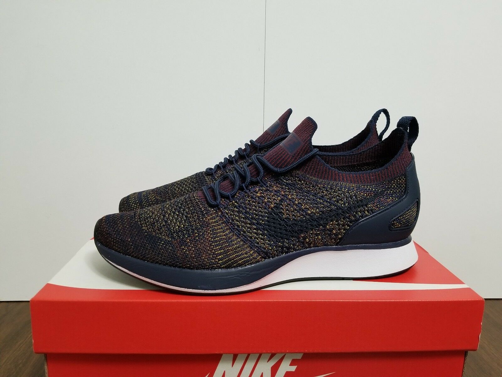 AIR ZOOM MARIAH FLYKNIT RACER COLLEGE NAVY / BORDEAUX 918264 401