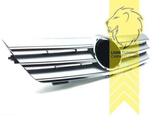 Sportgrill Kühlergrill für Mercedes Benz CL203 Sportcoupe chrom