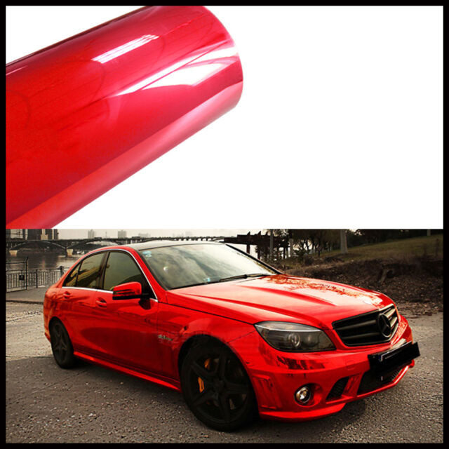Car Full Body Vehicle Protective DIY Decal Mirror Chrome Vinyl Film Sticker Wrap