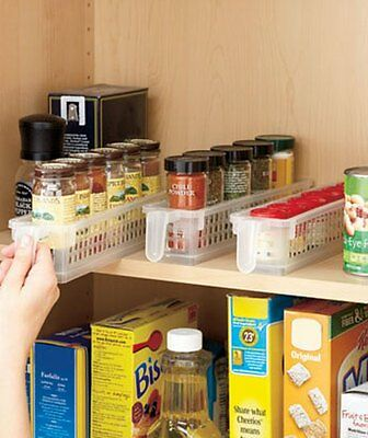 3 Spice Storage Baskets Pantry Fridge Kitchen Cabinet Organizer. 4 Every House