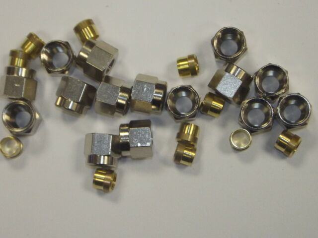 Compression Nuts & Olives Metric Sizes, Spare Olives & Nuts for Compression fitt