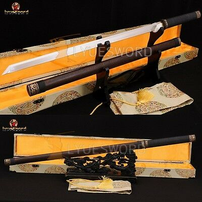 High Quality Chinese Sword Dao Full Tang Blade 1095 High Carbon Steel Very Sharp