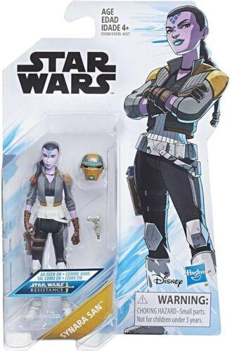 "Star Wars Resistance-synara San 3,75/""//Hasbro"