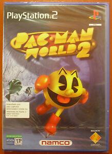 Pac-Man-World-2-Namco-PlayStation-2-PS2-PStwo-Pal-Espana-NUEVO-A-ESTRENAR