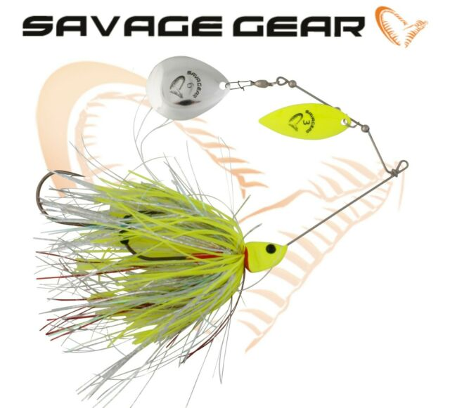 SAVAGE GEAR DP SPINNER-All Sizes All Colours-BUCKTAIL SPINNER NEW /& OVP