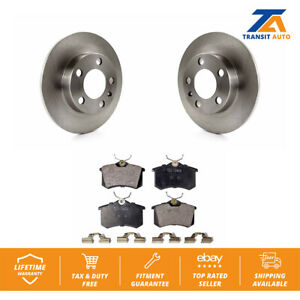 Rear-Brake-Disc-Rotors-TEC-Ceramic-Pad-Volkswagen-Jetta-Beetle-Golf-Audi-TT-City