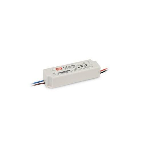 DEL-boutons Bloc d/'alimentation 9-30 v 700 ma 21 w ip67 Class 2 lpc-20-700 de MeanWell