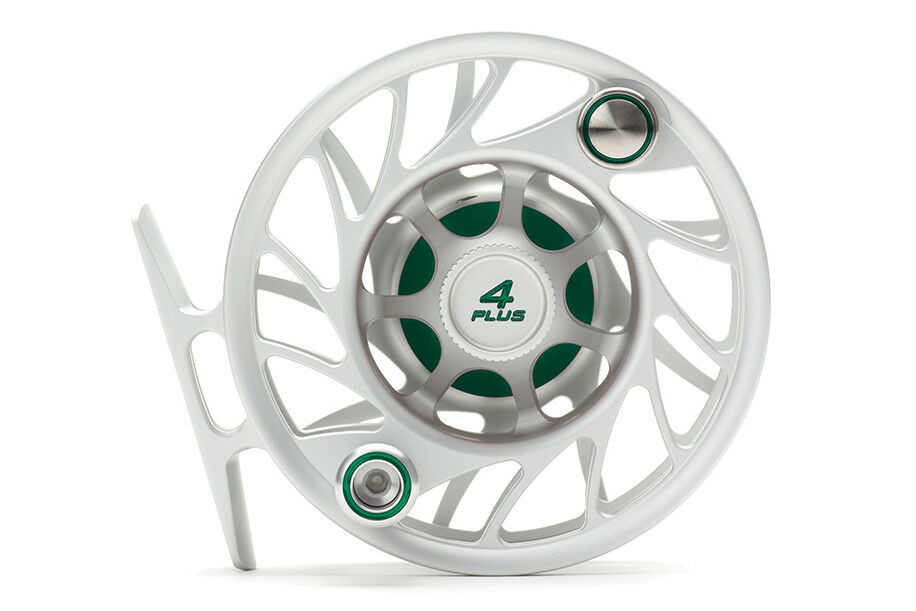 Hatch Gen 2 Finatic  Fly Reel - Size 4 Plus - Clear Green - Mid Arbor - New  global distribution