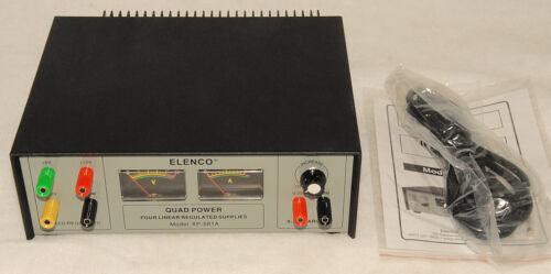 XP-581A QUAD VARIABLE DC POWER SUPPLY *BRAND NEW! ELENCO