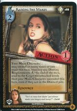 Buffy TVS CCG Limited Class Of 99 Rare Card #168 Raising The Stakes