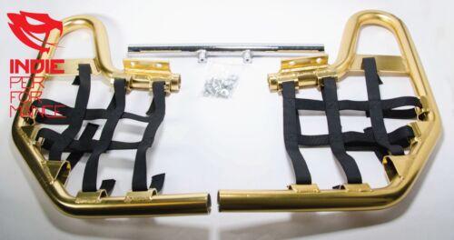 ANODIZED GOLD NERF BARS YAMAHA YFZ 450R FREE SHIPPING YFZ450R QUADS 2009-2012