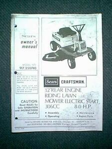 Sears craftsman rear engine riding mower 8 hp 32 model 917250740 image is loading sears craftsman rear engine riding mower 8 hp publicscrutiny Choice Image