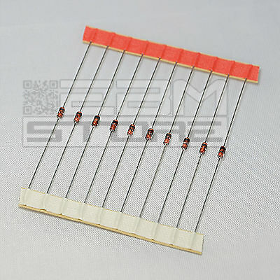 10 pz diodi zener 5,1V 1/2W BZX 79 C 5V1 - ART. DI05