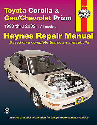 Repair Manual Haynes 92036