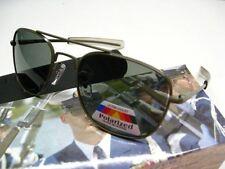HUMVEE OD Green Frame MILITARY PILOT Grey 52mm UV POLARIZED Lens Sunglasses!