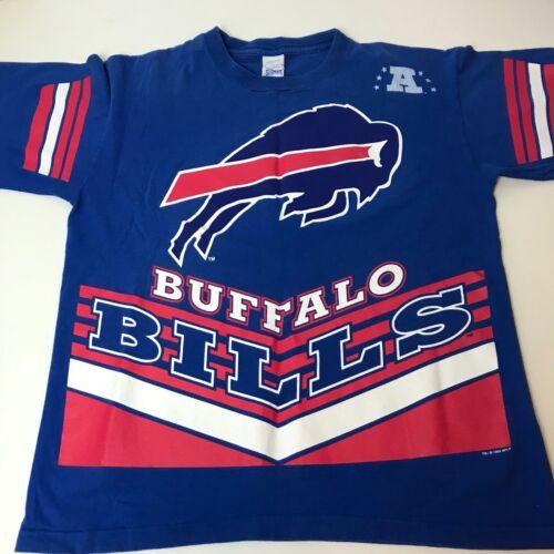 Vintage Buffalo BIlls Double Sided T Shirt Large S